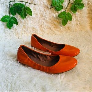 Lucky Brand blue Jeans Flats orange